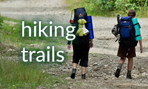 hiking trails banner