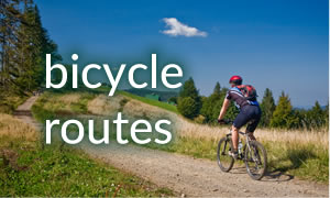 bicycle routes banner